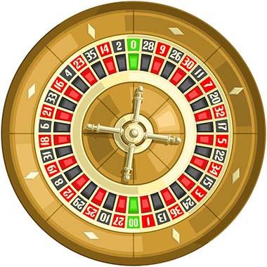 La roulette Américaine de casino